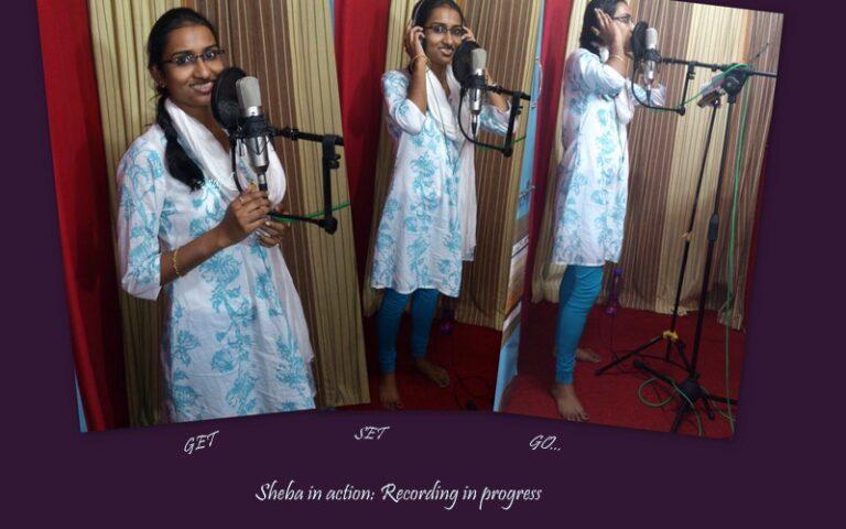 Recording Sheba's Voice